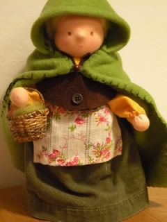Mother Earth standing doll