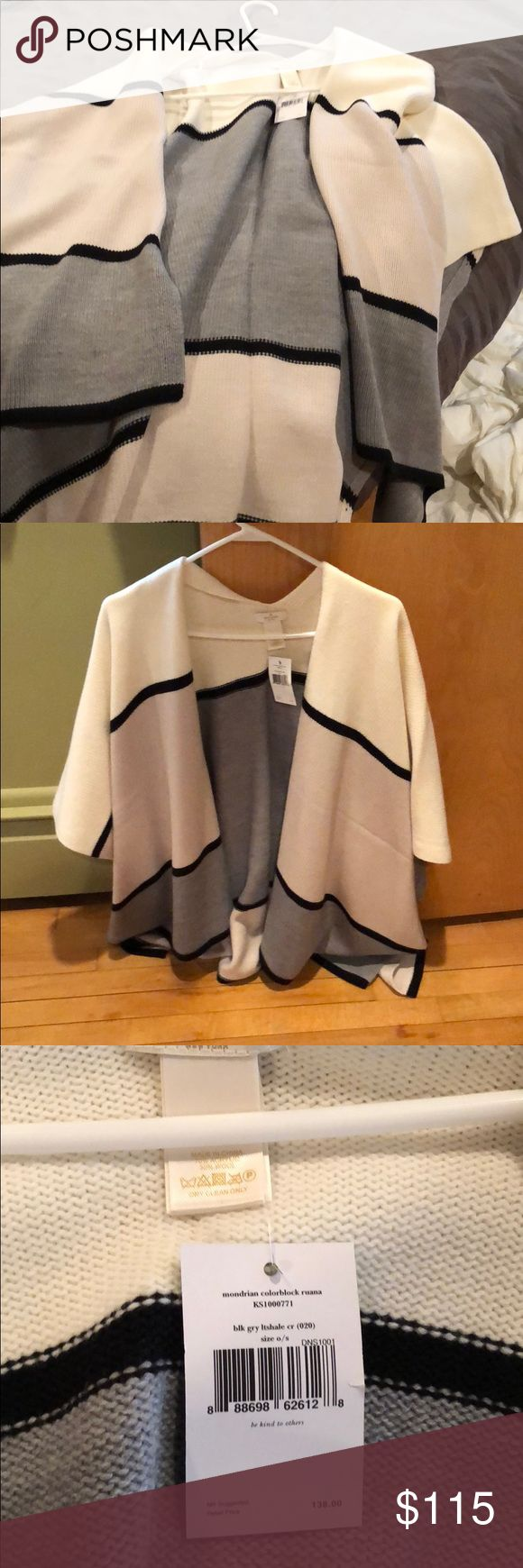 Kate spade wrap Brand new with tags kate spade Sweaters Shrugs & Ponchos