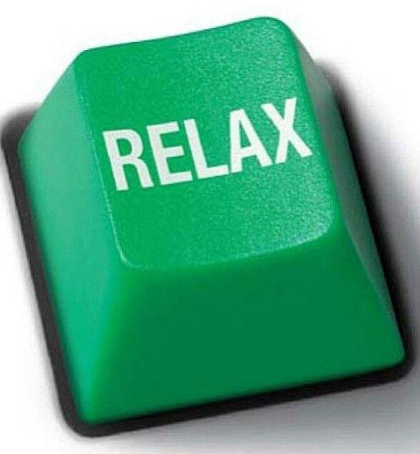 Ich drücke Ihren Entspannungs-Knopf!