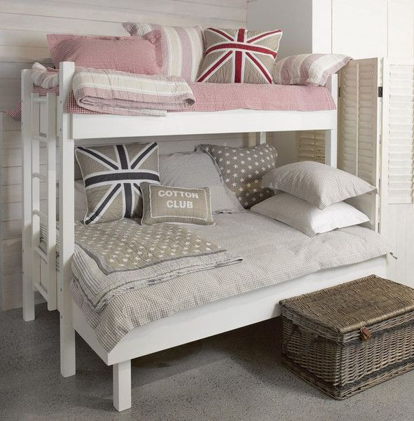 Furniture and bedlinen by Wallace Cotton ( New Zealand ) on the Cottonwood Style blog.