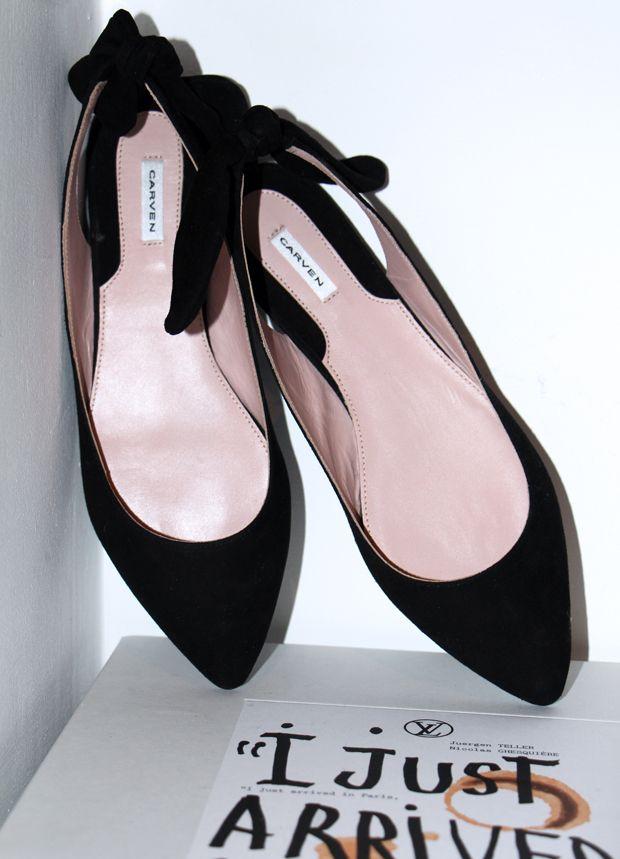 Carven shoes @blamefashion