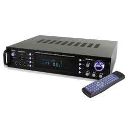 Bluetooth Hybrid Pre-Amplifier, Home Theater Stereo Amp Receiver, USB/SD/MP3/AUX/AM/FM, 2000 Watt