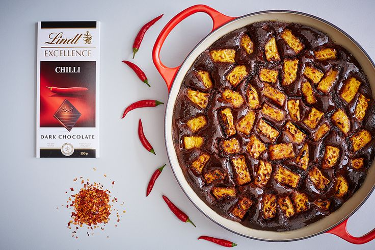 Chilli & Pineapple Soft Cake - LINDT EXCELLENCE recipe crafted in collaboration with Le Creuset