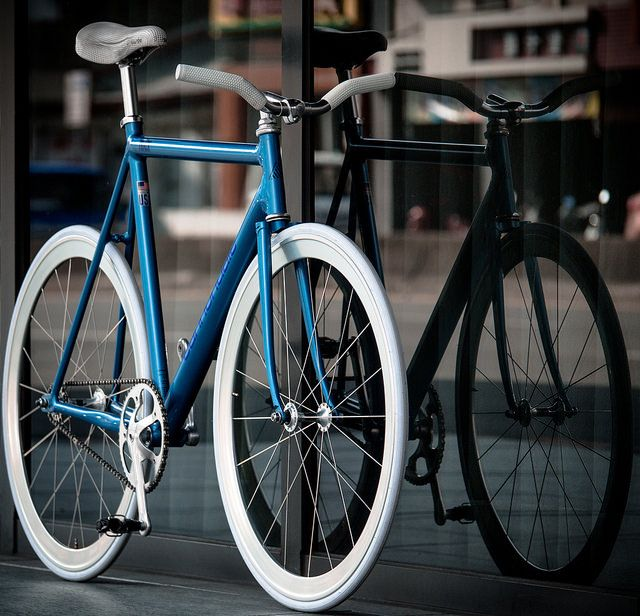 Cannondale Track Blue
