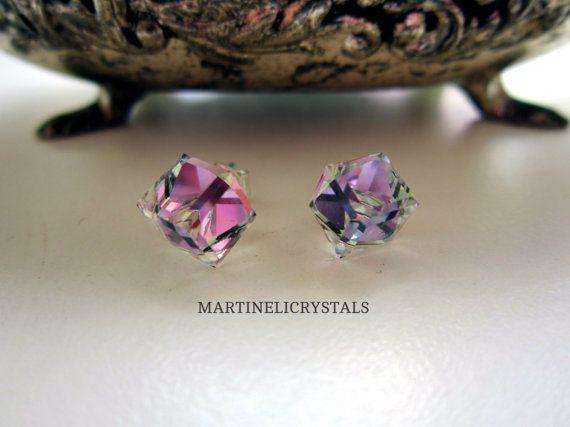 VL Crystal Cube Swarovski Vitrail  Vitrail by MARTINELICRYSTALS