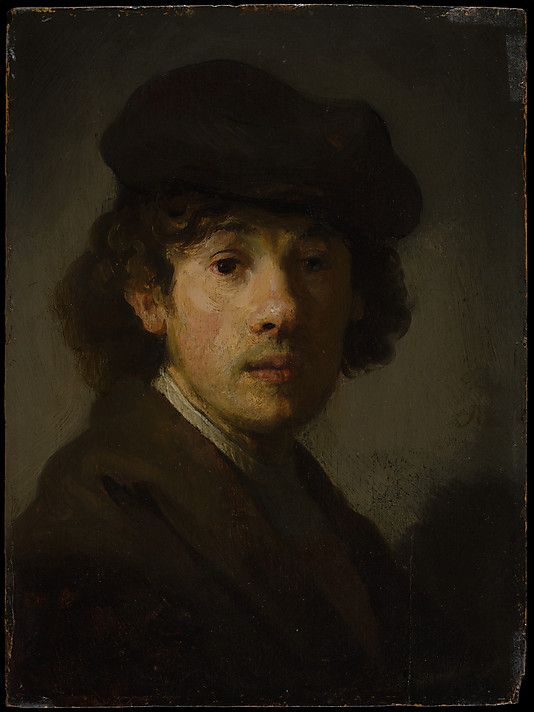 Rembrandt (1606–1669) as a Young Man Style of Rembrandt (Dutch, ca. 1630–35)