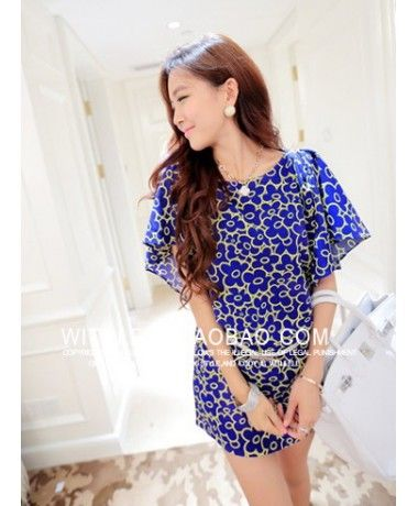 DRESS LY5711-BLUE Dress Korea murah Grosir Dress Import China-Korea jual pakaian wanita baju korea dan dress pesta import, Dress Import baju import grosir murah Merek Berkualitas Lele Style Model :  DRESS Brand :  Lelestyle ---- Original Product : China Lining : Yes Fabric : Chiffon M : Bust 94cm, Shoulder 42cm, Sleeve 18cm, Waistline 70cm, Length 78cm L : Bust 98cm, Shoulder 44cm, Sleeve 18cm, Waistline 74cm, Length 79cm 250grams   ..