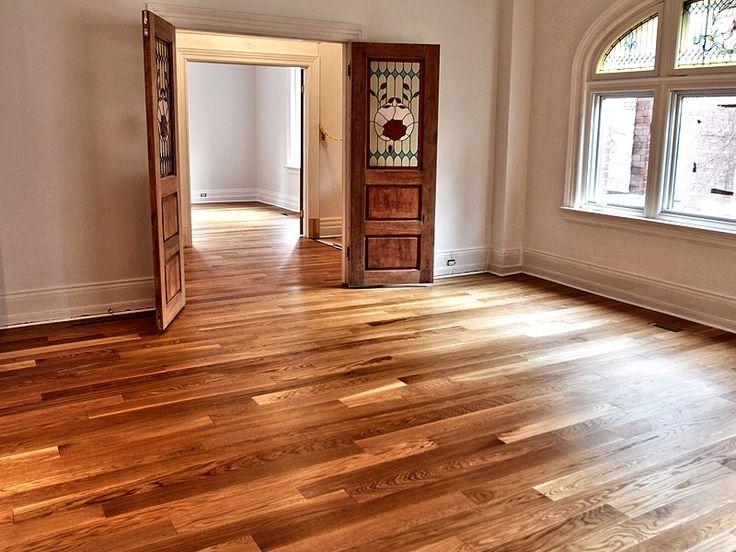 Plancher de bois franc ingenierie - chene - blanc - select - huile-livos-naturel #Planchersboisfranc . Partageons la passion du bois