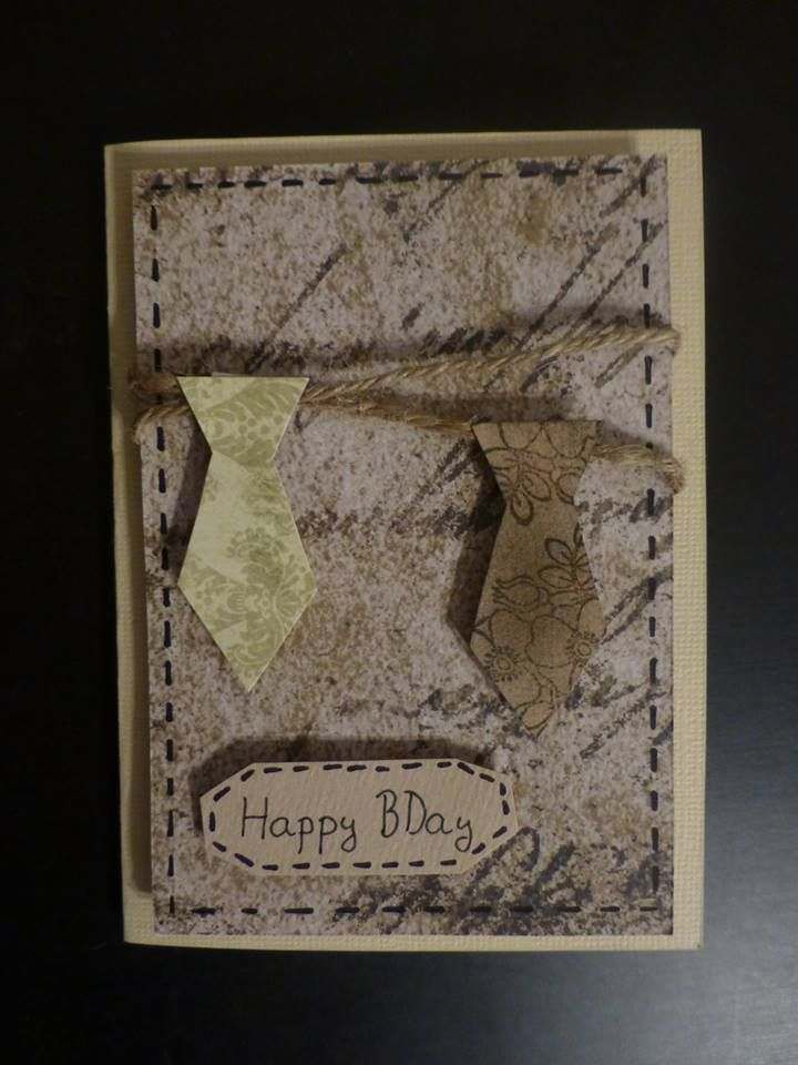 One male card :)  #birthday #man # card