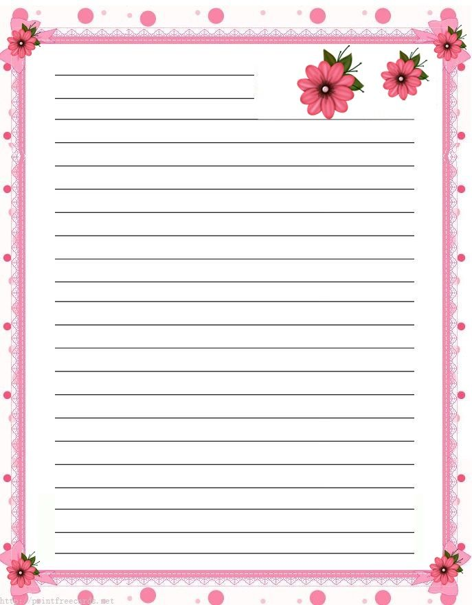 28 best Stationary images on Pinterest Writing papers, Printable - free printable lined writing paper