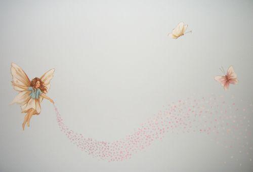 mural fairy room