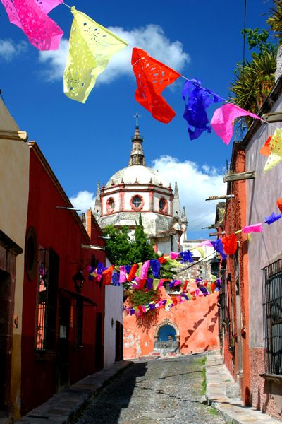 San Miguel de Allende, Mexico yes it looks like this in real life
