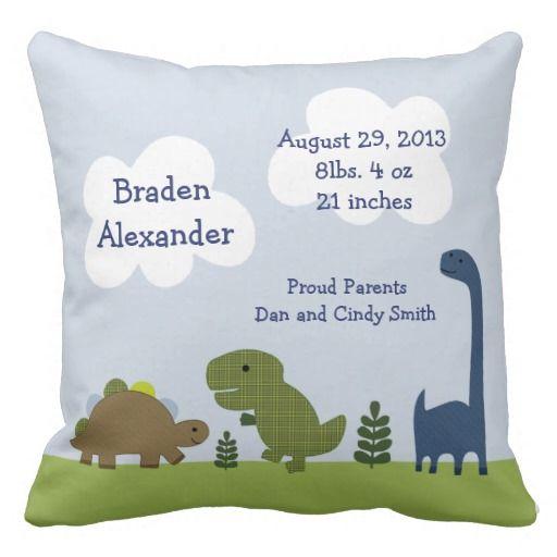Birth Announcement Pillows