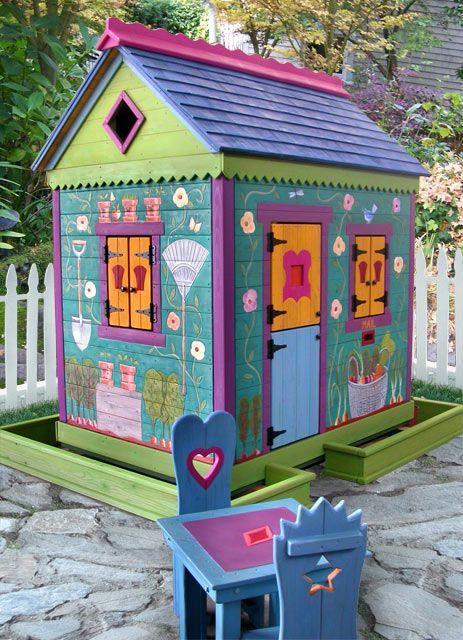 Garden Sheds For Kids