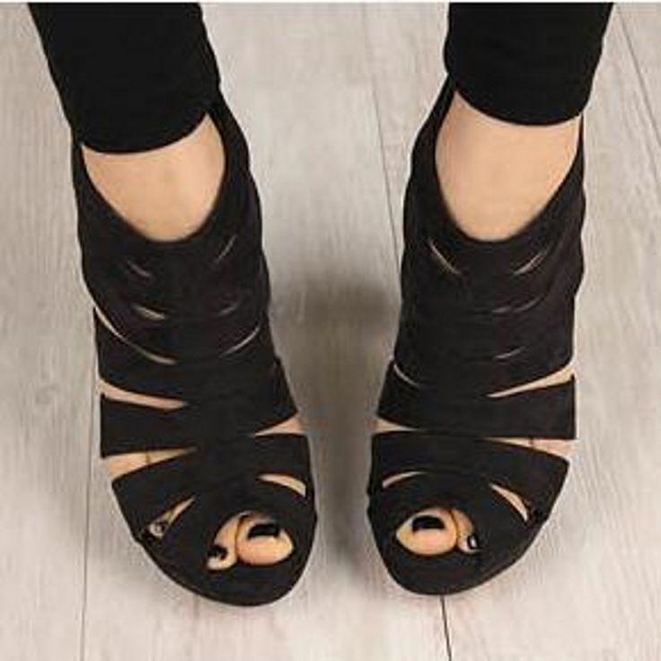 Летние вырезы гладиатор женщины насосы peep toe высокие каблуки босоножки ботинки женщина партия свадебное платье OL туфли на шпильках обувь молния купить на AliExpress