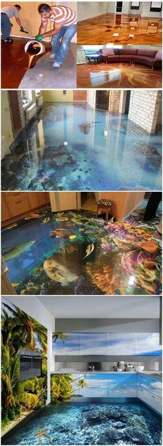 How To Create Stunning Metallic Epoxy Floors