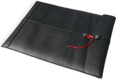 "Pro-Manila-15(TM) Leather MacBook Laptop Sleeve / Case- Custom-Fitted For Aluminum MacBook Pro 15"" by Civilian(R)"