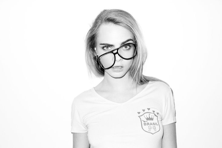 Cara Delevingne Making Her Usual Goofy Faces at Terry Richardson's Studio - Joe's Daily