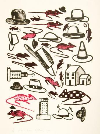 Richard Killeen - Rats in Hats
