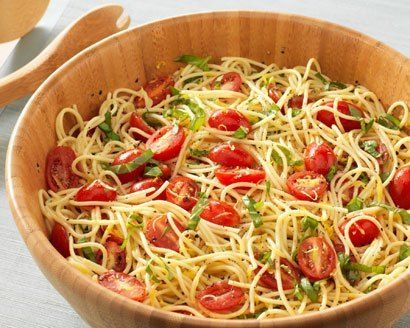 "The dish, ""Randy's Lemon Capellini,"" is simple to make, and was a big hit at a recent potluck lunch at his home-away-from-home, Kleinfelds. Randy has teamed up with The Pampered Chef's Cookbook for a Cause, Vol. 3 - a charitable cookbook featuring TLC stars' favorite recipes with proceeds benefitting Feeding America® to help families in need nationwide."