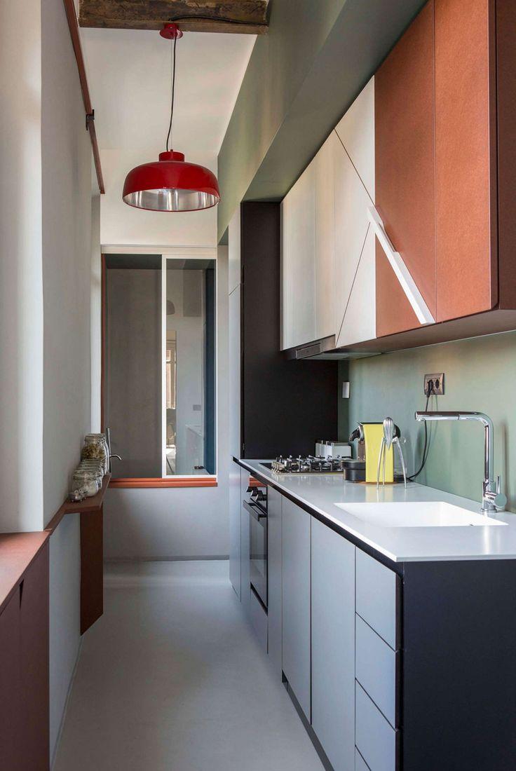 1658 best kitchen images on pinterest kitchen modern kitchens promenade apartment in turin by sceg architects french interiorskitchen