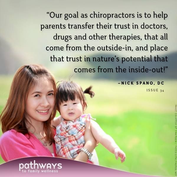ICPA-International Chiropractic Pediatric Association members specialize in dealing with prenatal care, pregnancy, and children. Find a Pediatric Chiropractor in your area.