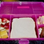Lunchbox idea: Cubed meat and cheese