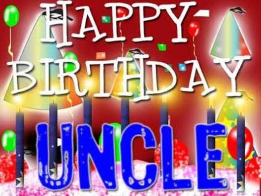 Happy Birthday Uncle Image Free