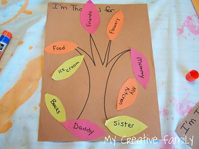 Thankful Trees ~ Creative Family Fun