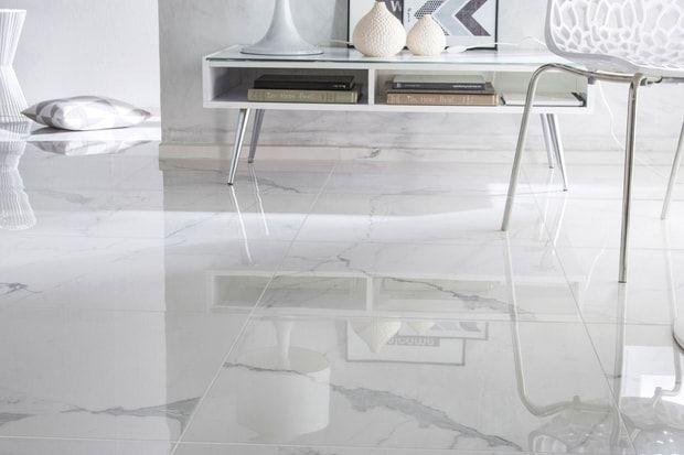 Le carrelage imitation marbre