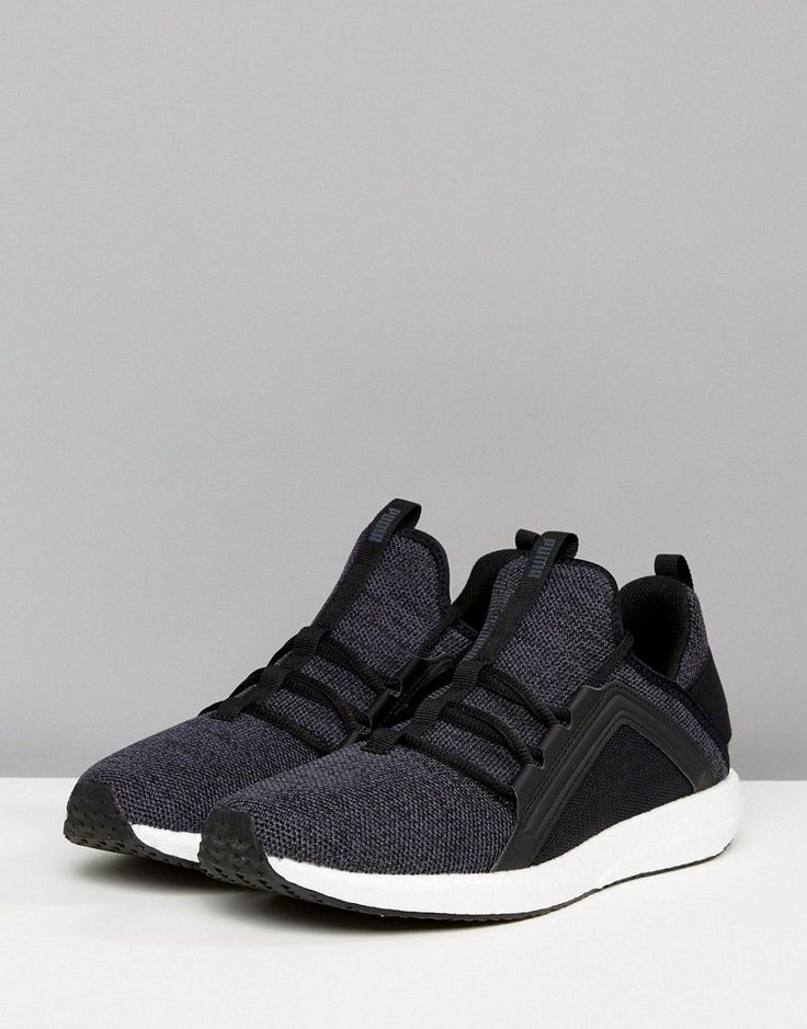 Puma Running Mega NRGY Knit Sneakers In Black 19037101 | Pumas, Running and  Fashion online