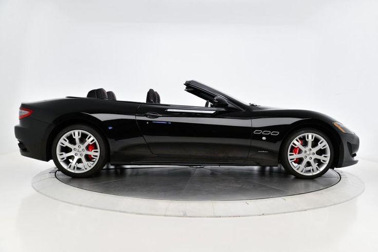 Maserati Granturismo Convertible  Black New  Maserati Granturismo Sport Nero Black For Sale In Los Picture