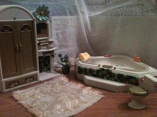 Attractive OOAK Barbie Bathroom House Furniture 1 6SCALE Diorama Accessories Toilet  Kitchen | EBay