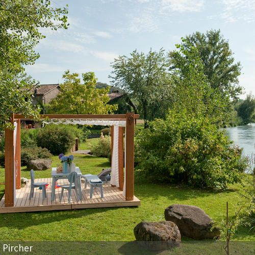 17 Best Ideas About Pavillon Aus Holz On Pinterest ... Holz Pavillon Wabenform