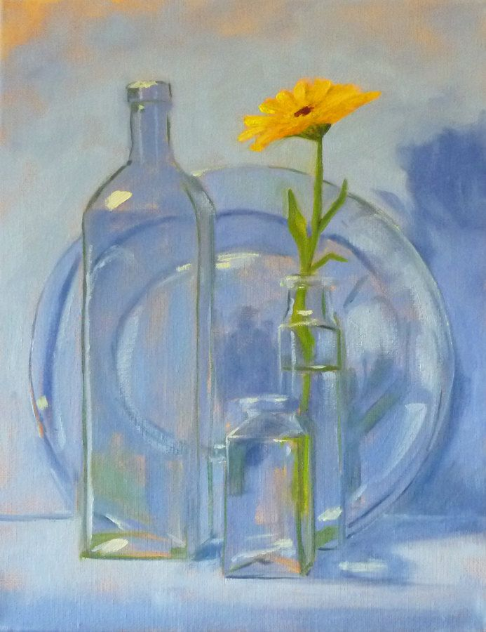 17 best images about art bottles on pinterest glass for How to paint glass with oil paint