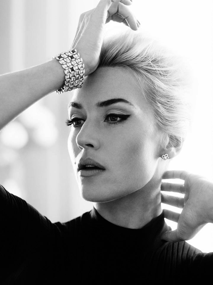 Kate Winslet - Besides the fact that she is gorgeous..the makeup is beautiful!