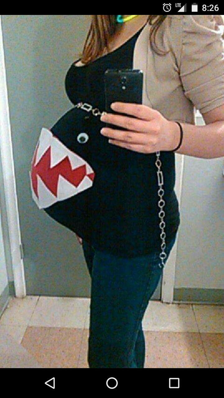 Pregnancy Halloween costume...too funny!