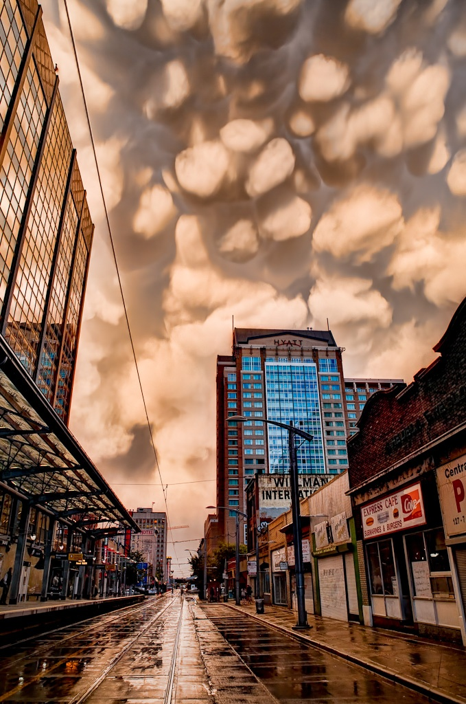 Clouds after a hailstorm in Calgary, August 18th 2011 #Calgary #Alberta #Canada #Canadastorm #Sky #Photography