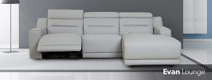 Recliner Lounge Range - Evan Recliner Lounge
