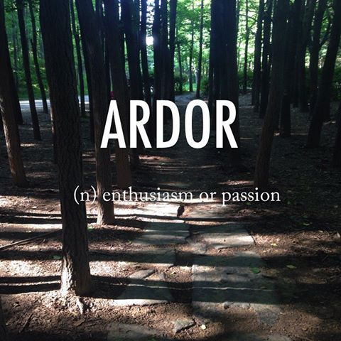 Passionate archetype - ardor full of enthusiasm and passion