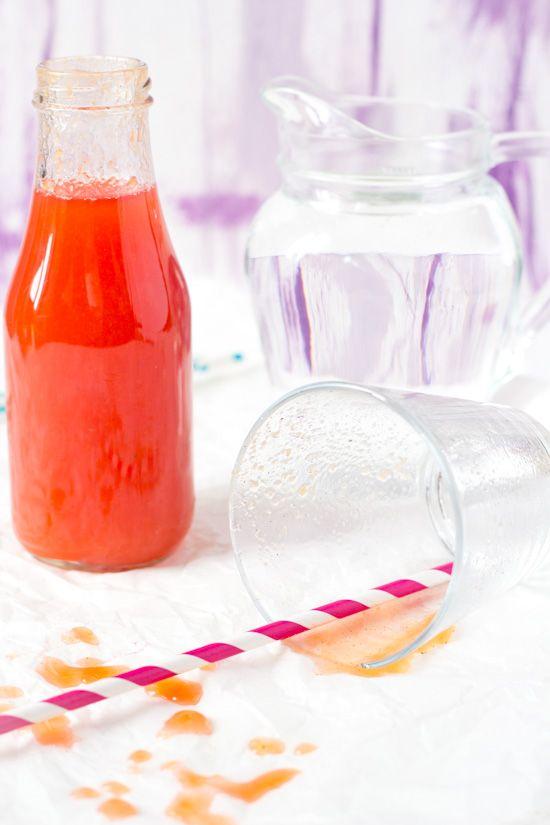 Recept limonade van vruchten zelf maken