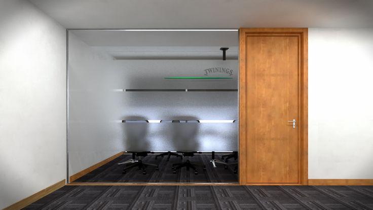Render Interior Corredor - EVA3D