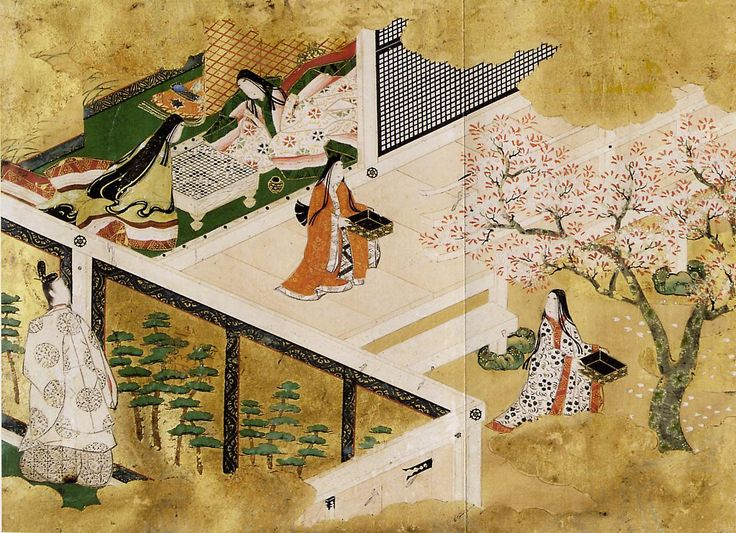 Scenes from the Tales of Genji Artist: Tosa Mitsuyoshi (1539-1613) Year: Japan Momoyama Period