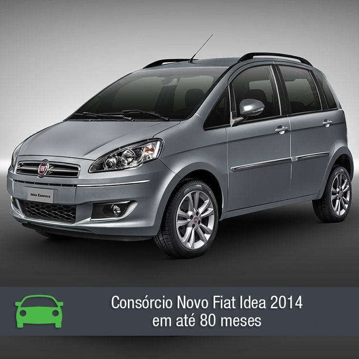O Fiat Idea chega à versão 2014 com algumas mudanças no visual. Confira através da matéria: https://www.consorciodeautomoveis.com.br/noticias/consorcio-novo-fiat-idea-2014-em-ate-80-meses?idcampanha=206&utm_source=Pinterest&utm_medium=Perfil&utm_campaign=redessociais