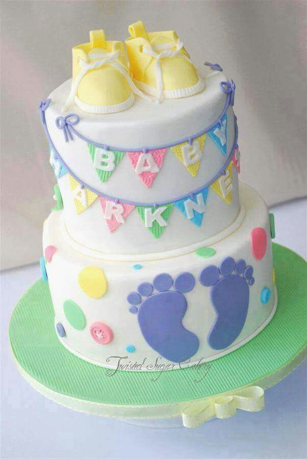 Superior Foot Print. Baby CakesBaby Shower ...