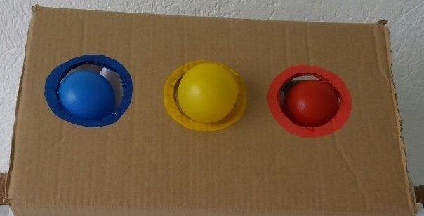 Atividade Com Bola Colorida Conhecer Cores Associar Cores