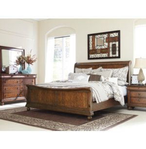 Rustic/sleigh bed