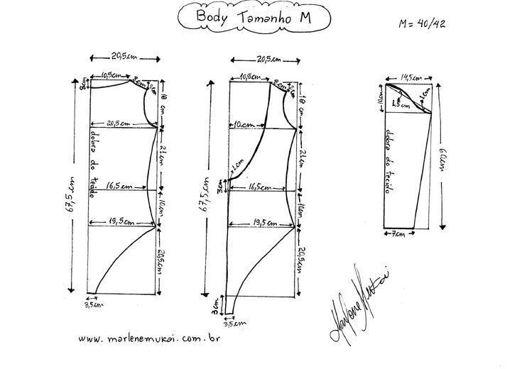 Patrones para hacer un body para dama - Ideas de Manualidades