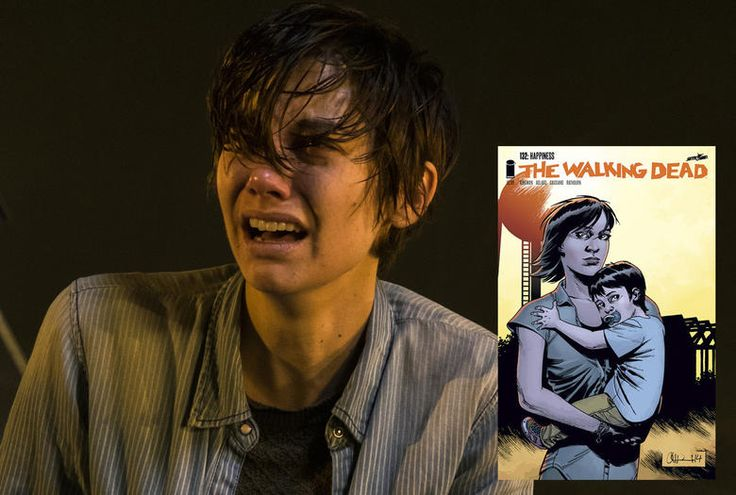 Spoilers From the Walking Dead Comics : Maggie gets badass