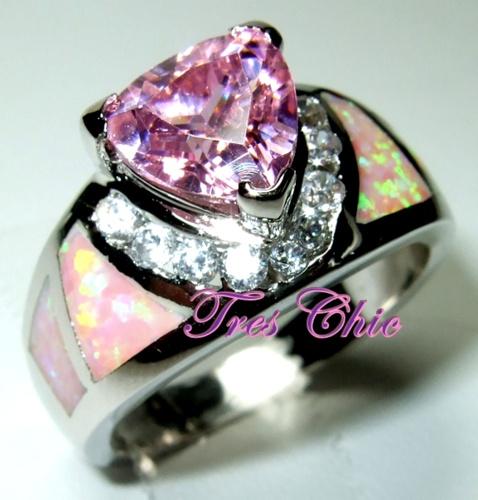 Tophatter Pink Diamond Ring